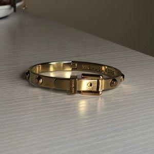 Michael Kors gold clasp bracelet